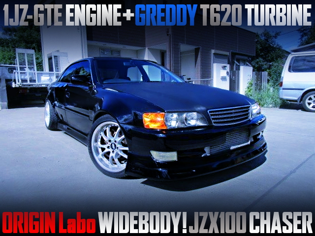 GREDDY T620 TURBO AND ORIGIN LABO WIDEBODY OF JZX100 CHASER