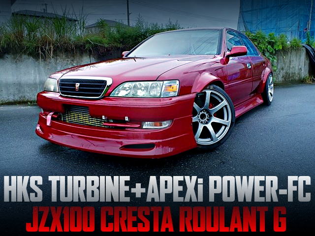 HKS TURBOCHARGED JZX100 CRESTA ROULANT G OF WIDEBODY
