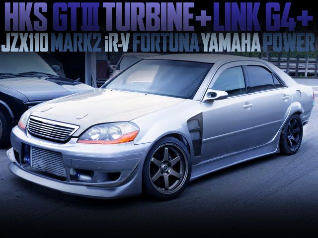 HKS GT3 TURBOCHARGED JZX110 MARK2 iRV FORTUNA YAMAHA POWER