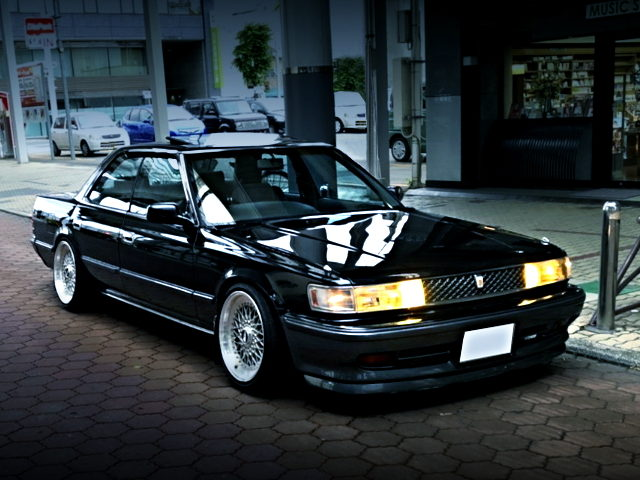 FRONT EXTERIOR OF JZX81 CHASER