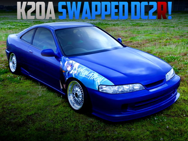K20A iVTEC SWAPPED DC2 INTEGRA TYPE-R