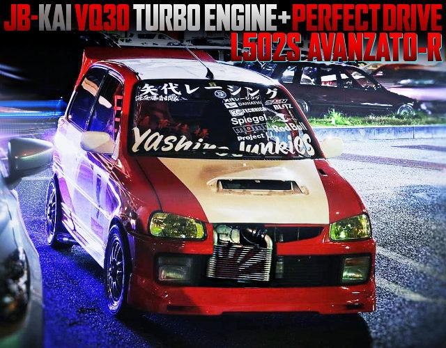 VQ30 TURBOCHARGED JB-JL OF L502S MIRA TRXX AVANZATO-R