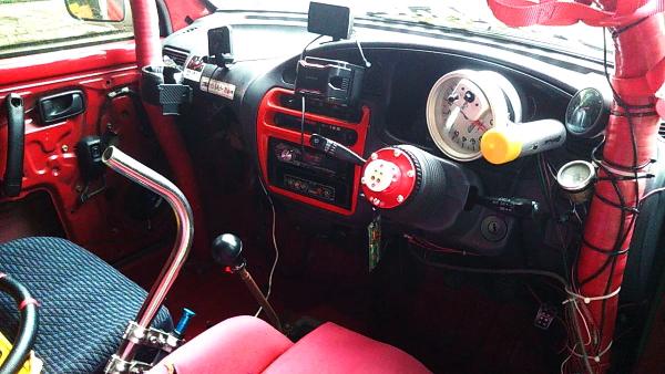 CUSTOM DASHBOARD OF L502S MIRA TRXX AVANZATO-R