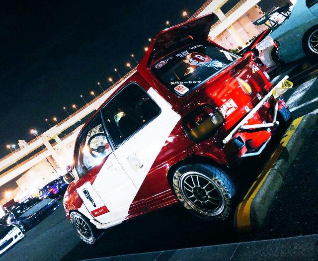 L502S MIRA TRXX AVANZATO-R AT DAIKOKU PARKING AREA