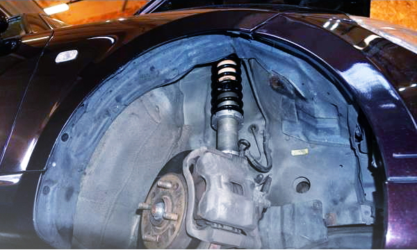 COILOVER AND INTEGRA TYPE-R BRAKE CONVERSION