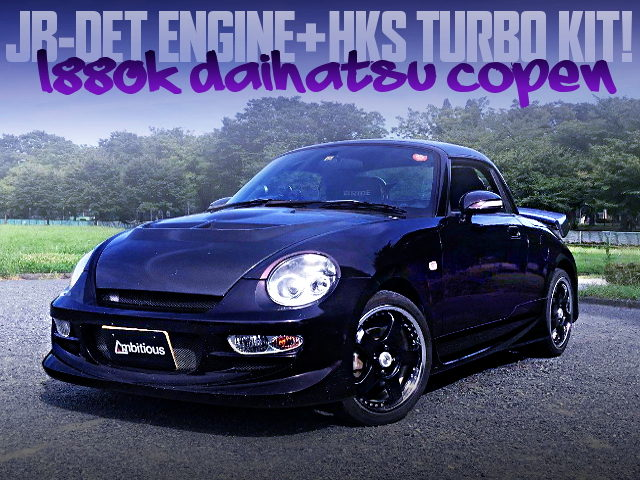 HKS TURBO KIT INSTALLED L880K COPEN