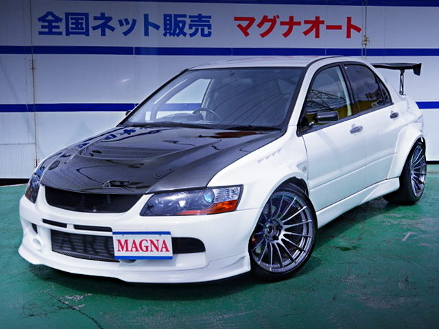 FRONT EXTERIOR LANCER EVOLUTION 7 RS With WIDEBODY