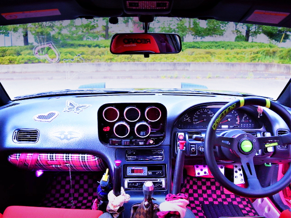 CUSTOM DASHBOARD OF 180SX