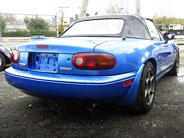 REAR EXTERIOR of NA8C ROADSTER