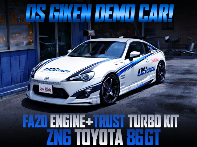 OS GIKEN DEMOCAR FOR ZN6 TOYOTA 86GT