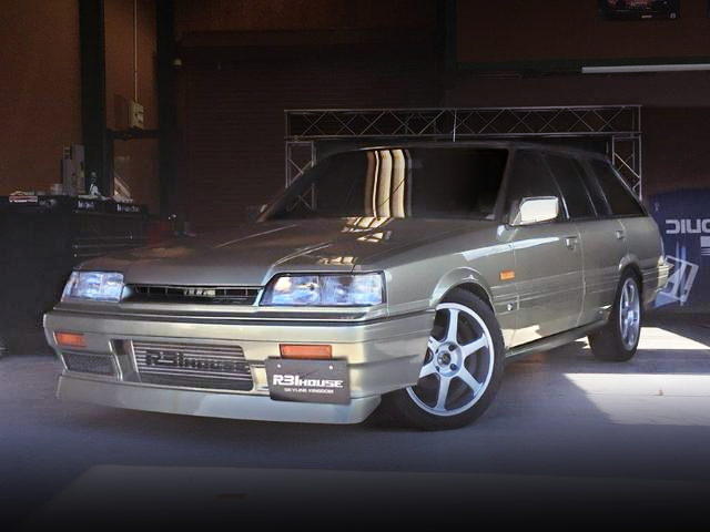 FRONT EXTERIOR R31 SKYLINE STATION WAGON