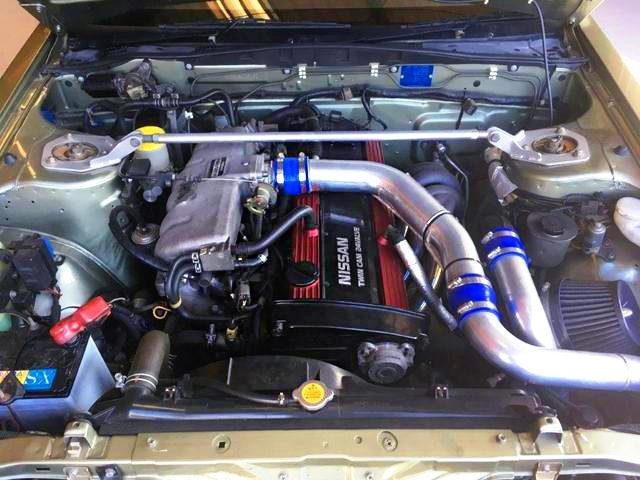 RB20DET-R TURBO ENGINE