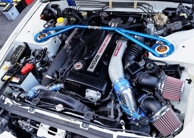 RB26 TWINTURBO ENGINE OF R32 GT-R