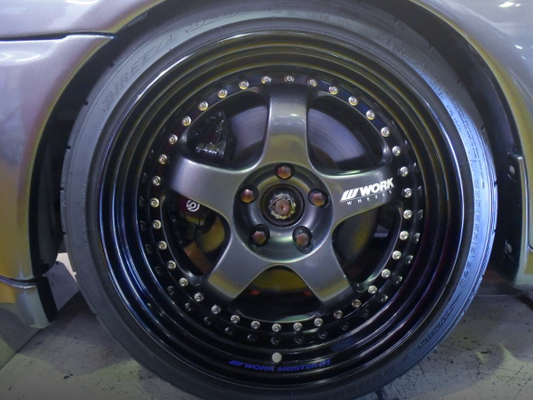 WORK MEISTER S1 WHEEL FOR R32 GT-R FRONT