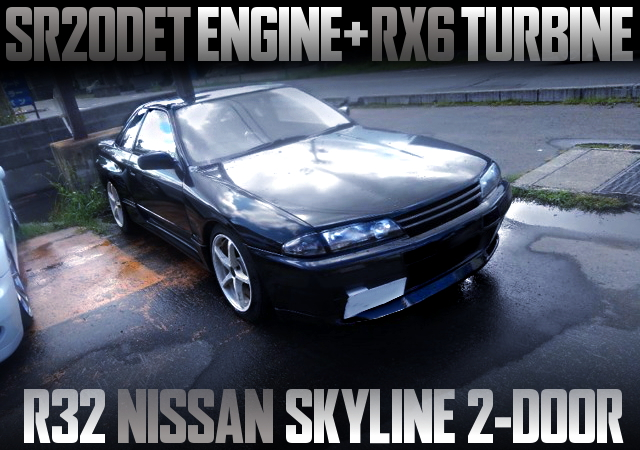 SR20DET SWAPPED R32 SKYLINE 2-DOOR