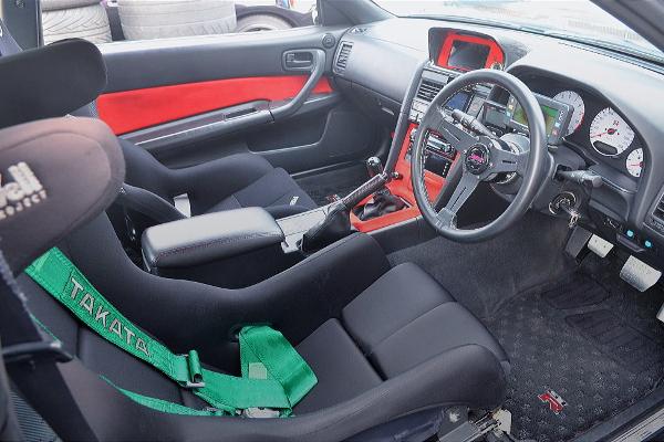 R34 GT-R V-SPEC INTERIOR
