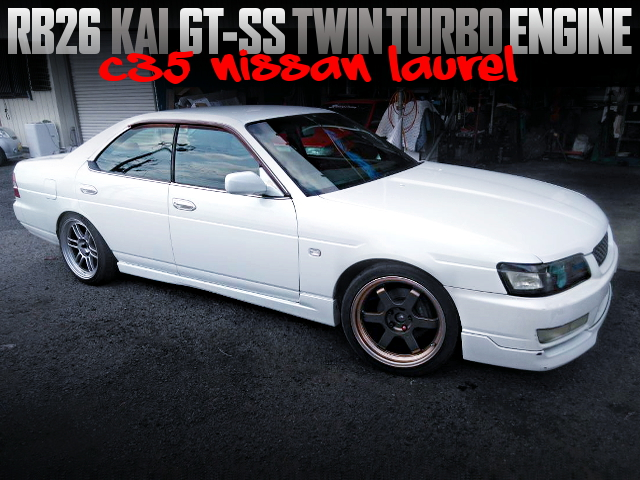 RB26 GT-SS TWINTURBO ENGINE SWAPPED C35 LAUREL