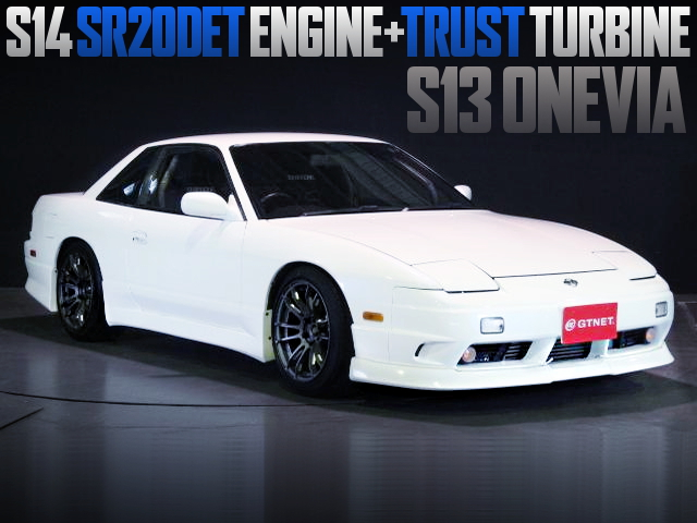 S14 SR20DET TURBO ENGINE SWAPPED S13 ONEVIA