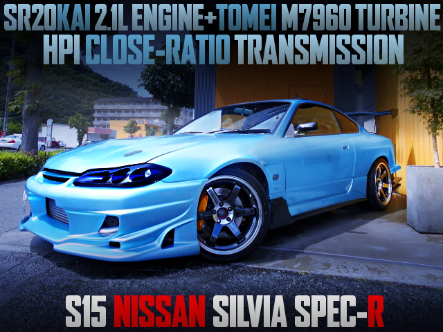 SR20 2100cc and M7960 TURBO WITH S15 SILVIA SPEC-R