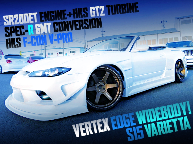 SR20DET GT2 TURBO ENGINE S15 VARIETTA WIDEBODY