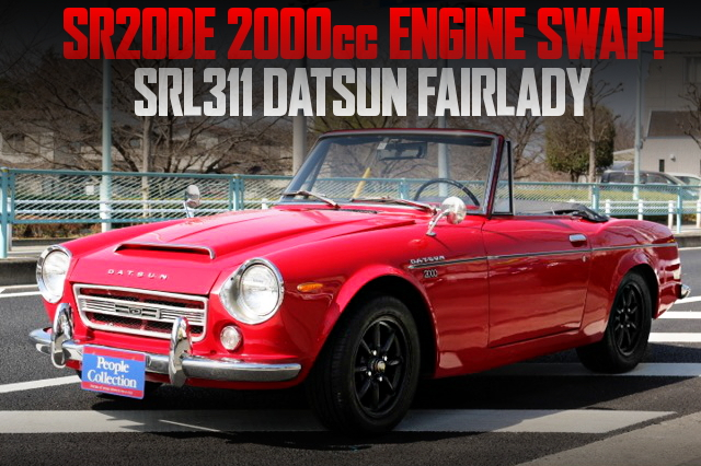 SR20DE ENGINE SWAPPED SRL311 DATSUN FAIRLADY