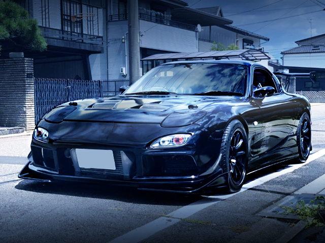FRONT EXTERIOR FD3S RX7 BLACK