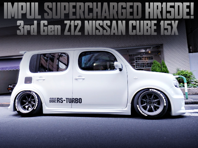 IMPUL SUPERCHARGER AND STANCE OF Z12 NISSAN CUBE 15x