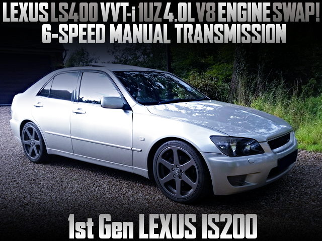 VVTi 1UZ V8 ENGINE AND 6MT INTO 1st Gen LEXUS IS200