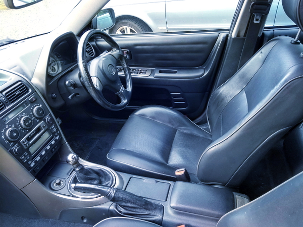 LEXUS IS200 OF BLACK LEATHER INTERIOR