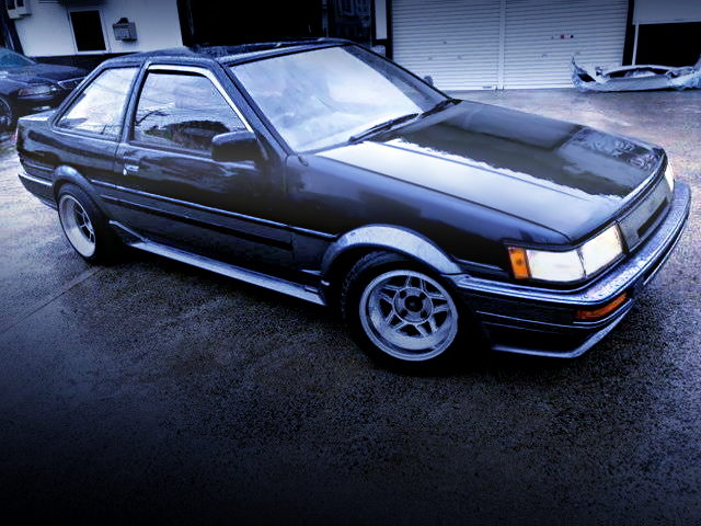 FRONT EXTERIOR AE86 LEVIN GT-APEX