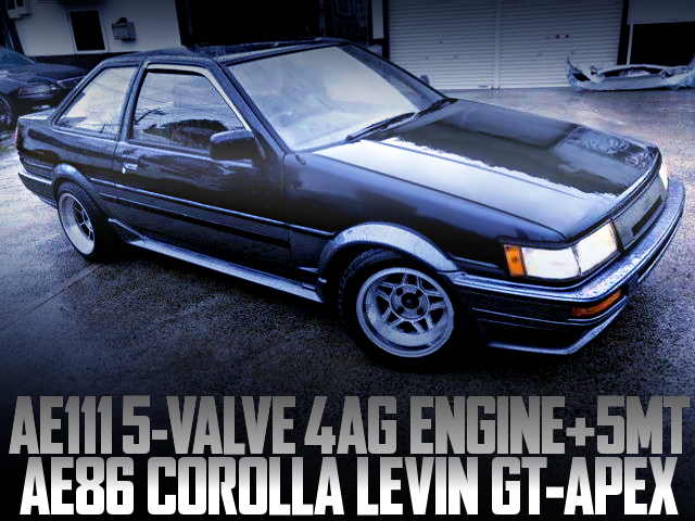 AE111 5-VALVE 4AG SWAPPED AE86 LEVIN GT-APEX