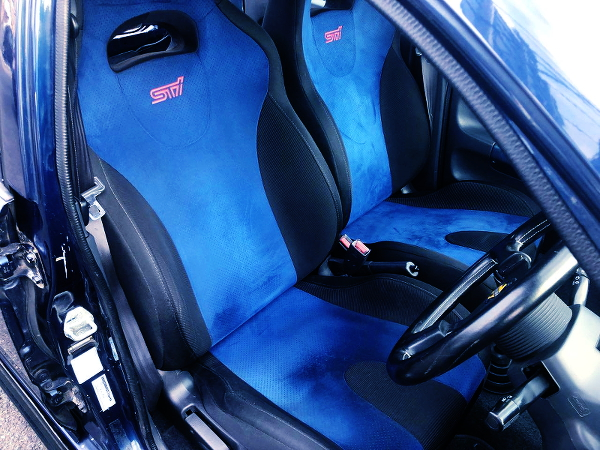 STI SEATS INSTALLED