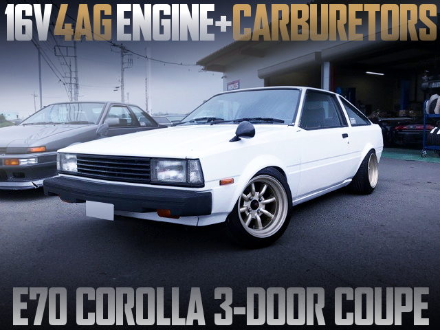 16V 4AG With CARBS INTO E70 COROLLA 3-DOOR COUPE