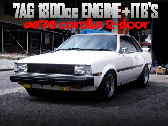 7AG 1800cc with ITBs INTO AE70 COROLLA 2-DOOR