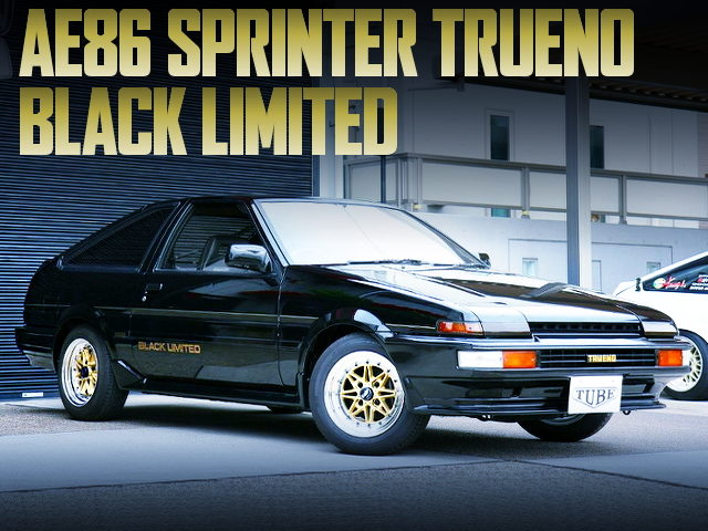 AE86 SPRINTER TRUENO GT APEX BLACK LIMITED