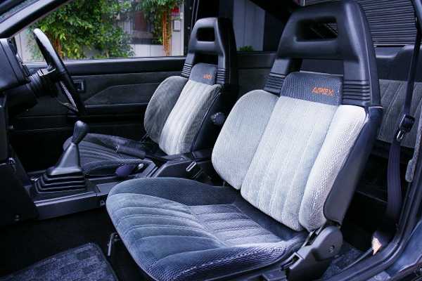 AE86 BLACK LIMITED SEATS
