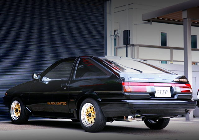 REAR EXTERIOR PF AE86 BLACK LIMITED