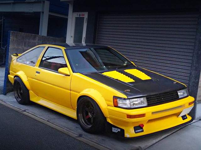 FRONT EXTERIOR AE86 LEVIN WIDEBODY