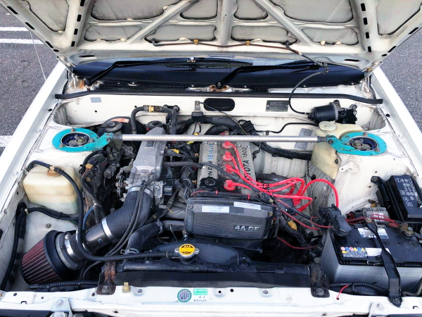 16V 4AGE ENGINE OF AE86 TRUENO MOTOR