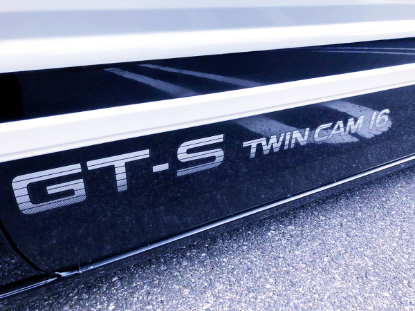 GT-S TWINCAM 16 LOGO DECAL