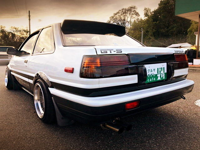 REAR EXTERIOR AE86 TRUENO GT-APEX OF UDSM CUSTOM