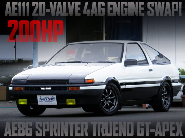AE111 20V 4AG SWAPPED AE86 TRUENO GT-APEX