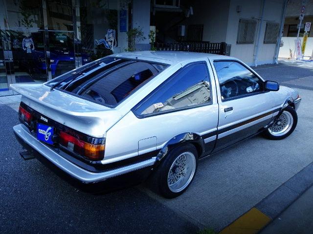 REAR EXTERIOR AE86 SPRINTER TRUENO GT-APEX