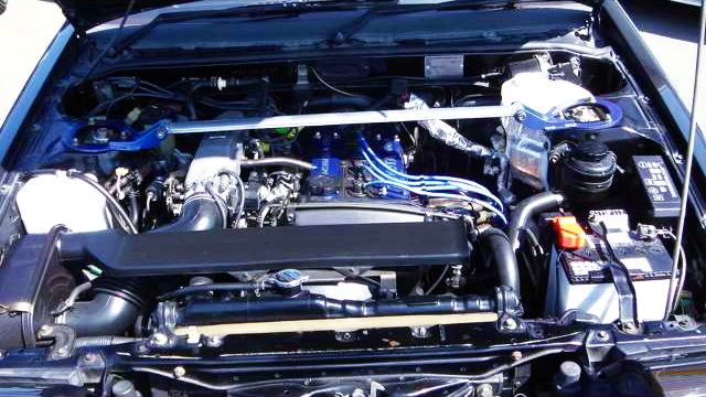 16VALVE 4AG ENGINE OF AE86 BLACK LIMITED MOTOR