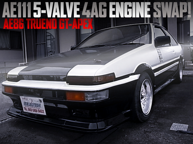 AE111 5V 4AG SWAPPED AE86 TRUENO GT APEX