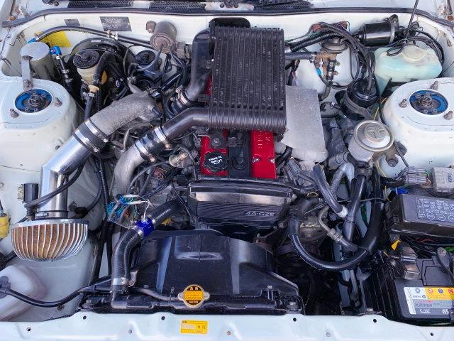 16V 4AGZE SUPERCHARGER ENGINE