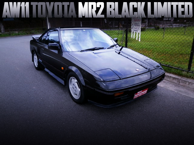 1st Gen AW11 MR2 BLACK LIMITED