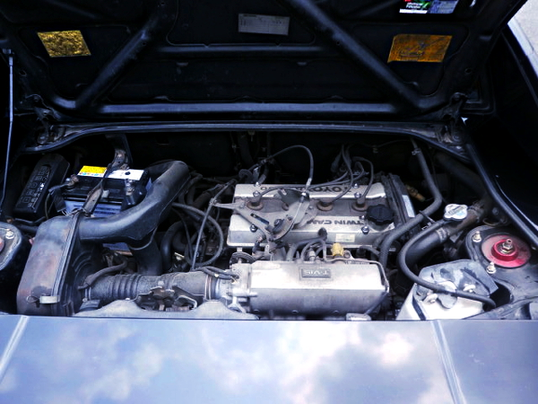 16V 4AG ENGINE OF AW11 MR2 BLACK LIMITED
