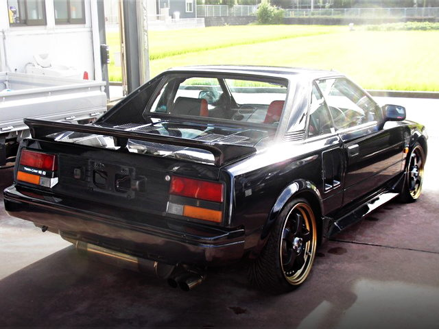 REAR EXTERIOR OF 1ST GEN MR2