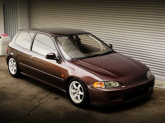 FRONT EXTERIOR EG6 CIVIC SiR2